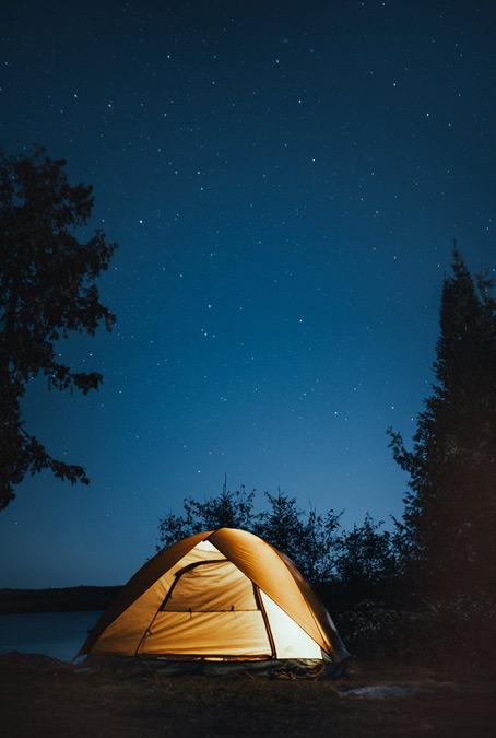 Pole campingowe - Poraj